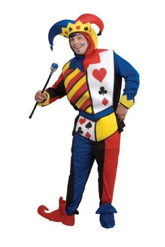 [Playing Card Joker Costume - Standard - Chest Size 46] (Card Joker Costumes)