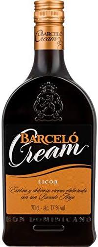 Barceló Barcelo Licor De Crema De Ron Añejo - 700 ml: Amazon ...