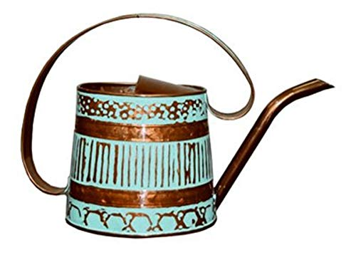 Robert Allen MPT01508 Danbury Watering Can.5 Gallon, Teal/Copper