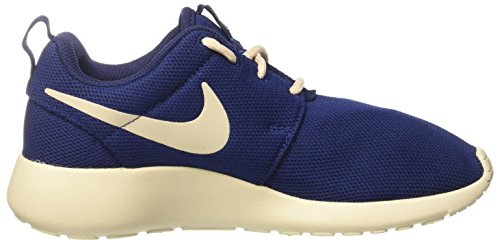 Roshe Binary Oatmeal One Bleu Nike Baskets Blue Oatmeal Femme qdA1wBZU