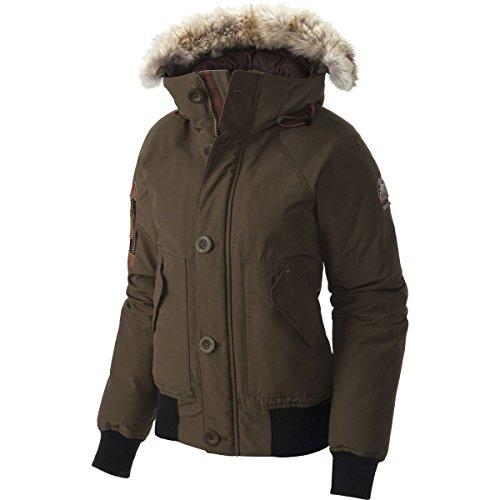 Sorel Caribou Down Bomber Jacket - Women's Olive Green, S