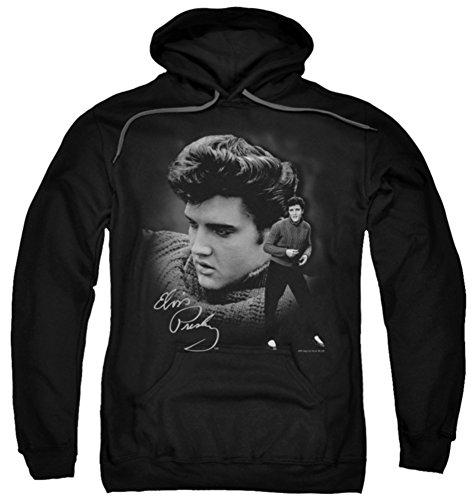 Hoodie: Elvis Presley - Sweater Pullover Hoodie Size - Sweatshirt Elvis