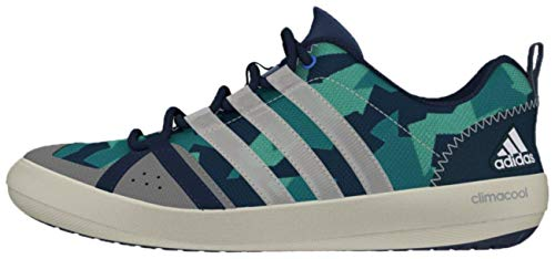 green Mint white Adidas Segelschuhe Camouflage Lace Blue Boat qnxpwvRH