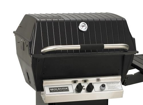 Deluxe Gas Grill with Stainless Steel Single-Level Grids, H-