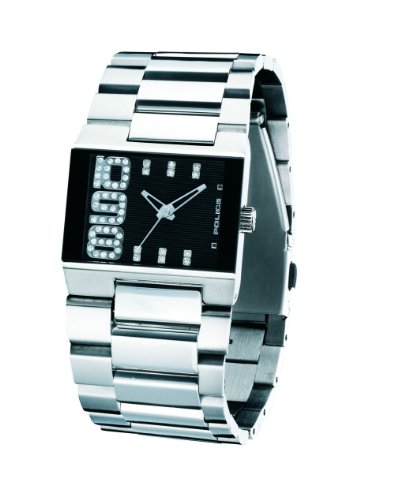 Police Women's PL-12078MS/02M Radiance Black Dial Watch