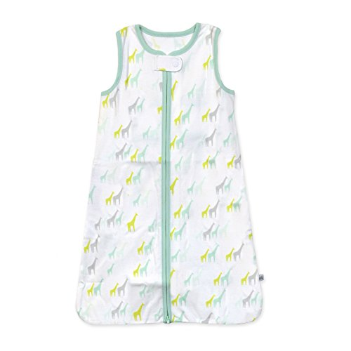 Just Born Wear-A-Blanket, Giraffe, Small, White/Green by Just Born