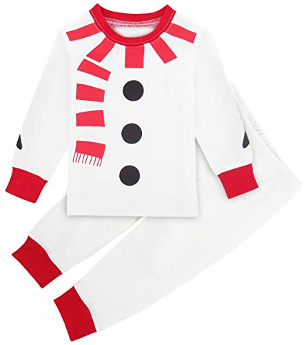 A&J DESIGN Toddler Kids Xmas Boys' Snowman Costume Pajamas Set PJS (3T)