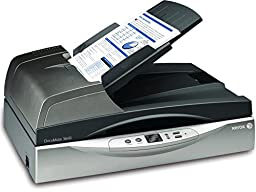 Xerox DocuMate 3640 Departmental Duplex 40 PPM 80 IPM Legal Size Flatbed Scanner with VRS Image Enhancement and One Touch Technology (XDM36405-WU)