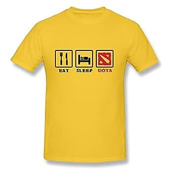 RUIFENG Men's Eat Sleep Dota T-shirt