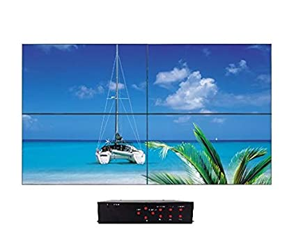 Amazon com: K2 Matrix Solution - 2x2 Video Wall Controller