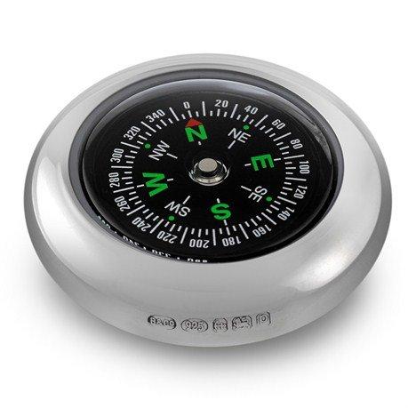 Hallmarked Sterling Silver Compass