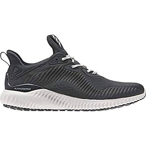 adidas Performance Women's Alphabounce 1 w, Carbon/Chalk Pearl/Carbon, 6.5 M US ()