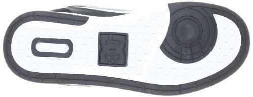 DC Shoes University MID Womens Shoe D0303211 - Zapatillas de cuero para mujer Negro (Schwarz (Black/Black/White BLW))