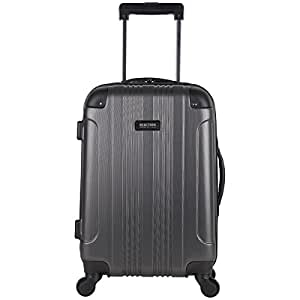 "Kenneth Cole Reaction Out of Bounds 20"" 4 Wheel Upright, Charcoal, One Size"