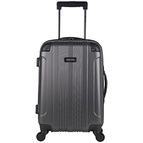 - Kenneth Cole Reaction Out Of Bounds 20-Inch Carry-On Lightweight Durable Hardshell 4-Wheel Spinner Cabin Size Luggage, Charcoal