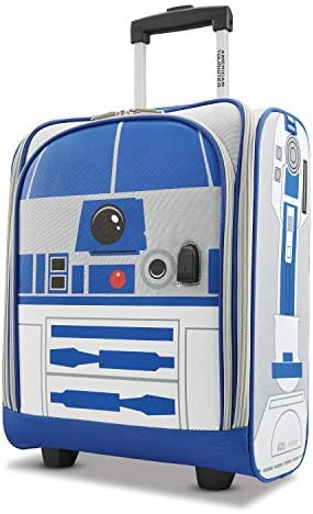 American Tourister Disney Softside Upright Luggage, R2D2, Carry-On 18-Inch