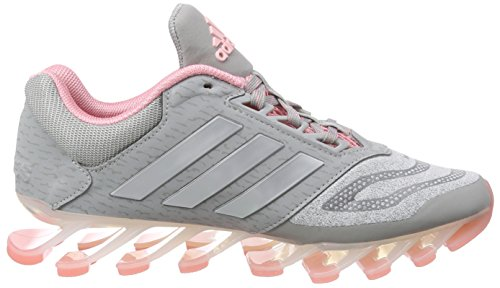 Super 0 Medium Damen Springblade Grau F15 Grey adidas Laufschuhe Heather 2 Drive Met Pop Silver 7w40tqZU