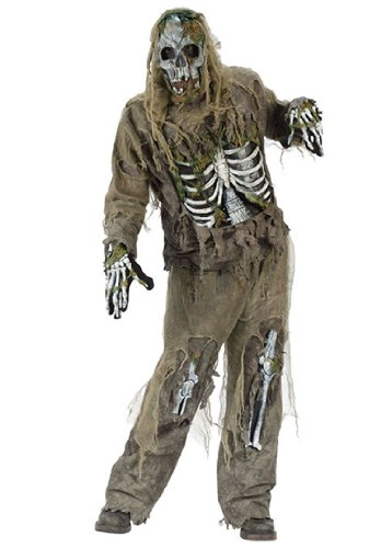 Fun World Skeleton Zombie Costume
