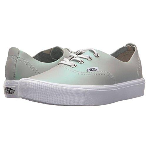 Vans Autentico Decon Lite (smorzato Metallico) Moda Sneakers Grigio / Verde Taglia 6,5 uomini / 8 Donne