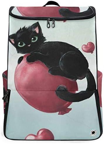リュック メンズ レディース リュックサック 3way バックパック 大容量 ビジネス 多機能 動物柄 猫 かわいい 子猫 スクエアリュック シューズポケット 防水 スポーツ 上下2層式 アウトドア旅行 耐衝撃