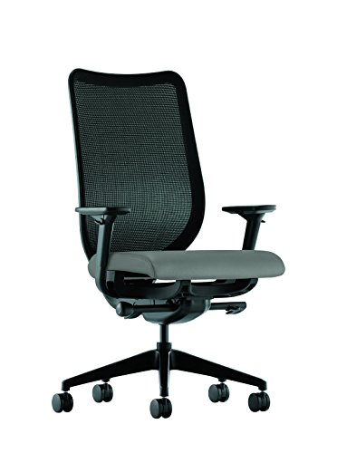 Nucleus Mesh Task Chair with Arms, Taupe