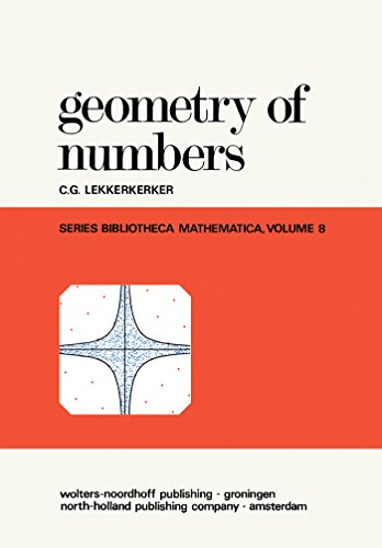 Geometry of Numbers (Bibliotheca mathematica, a series of