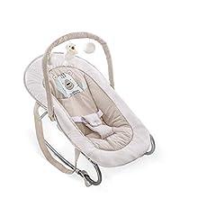 Hauck Bungee Deluxe 633632 Hamaca Bebés con Respaldo Ajustable, Antivuelco, Beige (Friend)