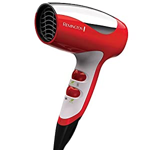 Remington Compact Ionic Travel Hair Dryer, (Colors Vary) D5000