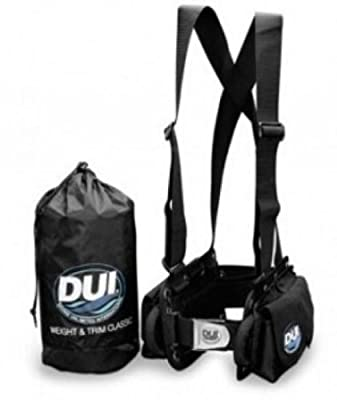 DUI Classic Weight Belt Harness for Drysuit Scuba Diving Dry Suit
