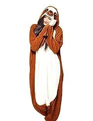 WOTOGOLD Animal Cosplay Costume New Sloth Adult Pajamas