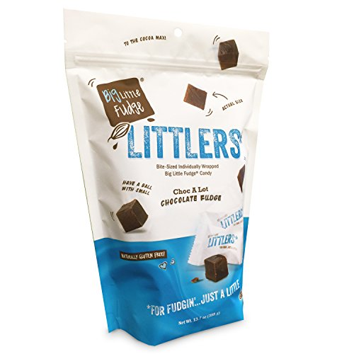 - Littlers Miniature Wrapped Fudge Bites 13.7 oz Stand Up Bag