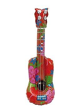 DISBACANAL Guitarra Hawaiana Hinchable: Amazon.es: Juguetes y juegos