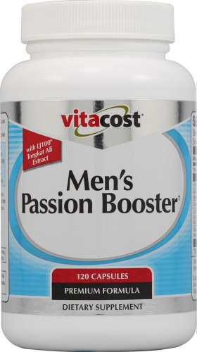 Vitacost Men's Passion Booster with LJ 100 Tongkat Ali -- 120 Capsules by Vitacost Brand
