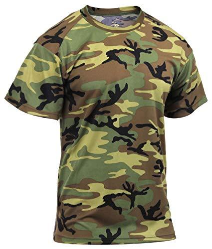 - BlackC Sport Men's Performance Moisture-Wicking Military Camo Active Wear T-Shirt