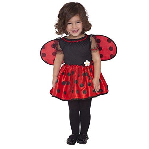 amscan Baby Little Ladybug Costume - 6-12 Months]()