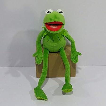 wwwl Juguete de Peluche 17.7 Pulgadas De Dibujos Animados Los Muppets Kermit Frog Peluches Juguetes De Peluche para Niños Regalo De Cumpleaños