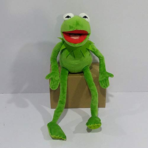 Stuffed Animal 45cm=17.7inch Cartoon The Muppets Kermit Frog Stuffed Animals Plush Boy Toys for Children Birthday Gift