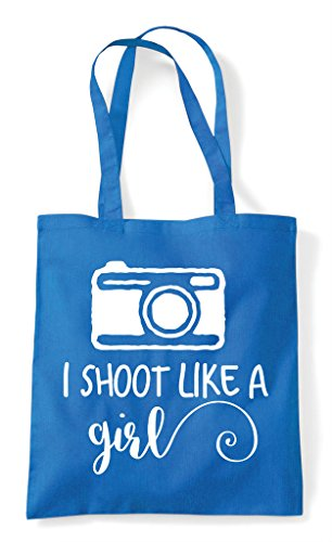 Shoot Sapphire Photography Bag Tote Shopper A Camera Like I Girl z4qRzw