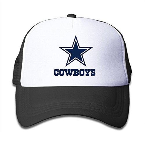 acmiran-dallas-blue-star-adjustable-trucker-hat-one-size-black