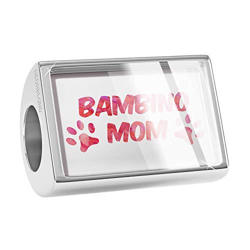 NEONBLOND Charm Dog & Cat Mom Bambino Bead