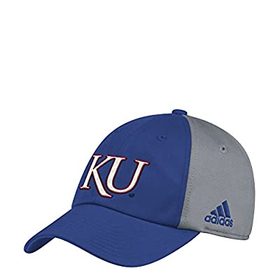 adidas Kansas Jayhawks Coaches Sideline Climalite Adjustable Hat