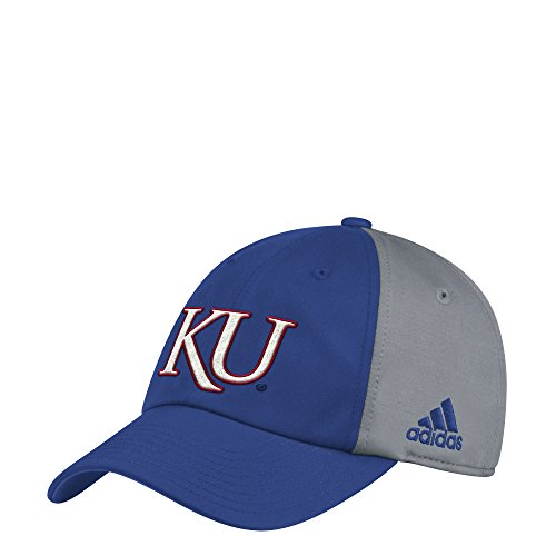 adidas Kansas Jayhawks Coaches Sideline Climalite Adjustable Hat