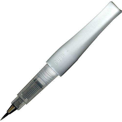 Kuretake Zig Glitter Fude Brush Pen, Wink of Stella Brush, GL, Black (DAI150-010P)