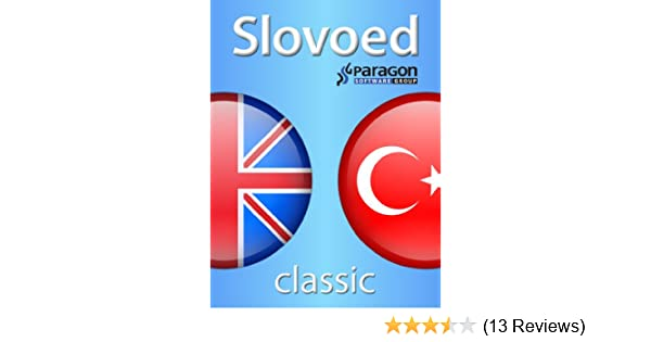 Slovoed Classic English-Turkish dictionary (Slovoed dictionaries)