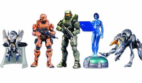 McFarlane Toys Halo 4: 5-Pack w/Exclusive Orange Spartan Soldier]()