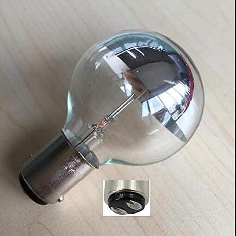 Xucus ba15d 15mm Base 24V 25W Medical shadowless lamp Bulb Insert Button Single Hole Cold Light Bulb Surgical Light Bulbs wy 24v 25w: Amazon.com: Industrial & Scientific