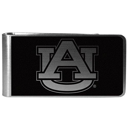 - NCAA Auburn Tigers Black & Steel Money Clip, Large