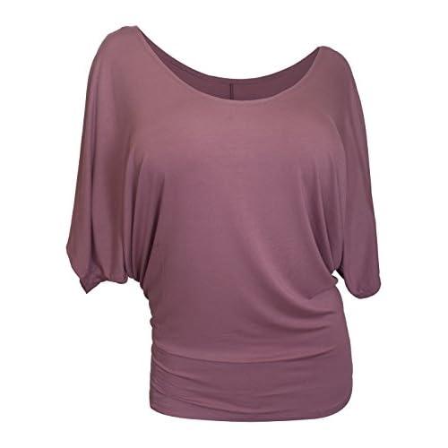 eVogues Women's Dolman Sleeve Top