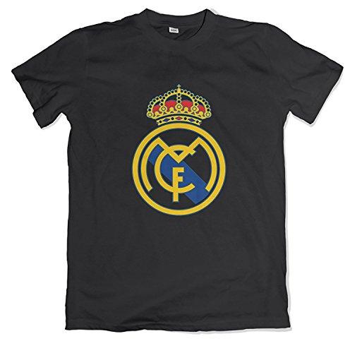 Smart Zone Real Madrid Shirt Madrid CF Logo Men's T- Shirt – DiZiSports Store