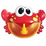 Crab bubble machine children music bubble machine bath partner